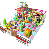 Jungle Gym를 위한 2016년 사탕 Series Playhouse Equipment Indoor Playground