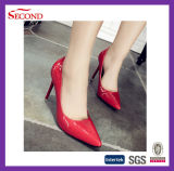 Madame Shoes de mode de couleur rouge