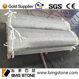 Coulisse grise foncée du granit G654, margelle de granit, bordures de trottoir