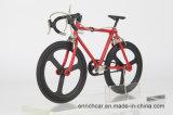 Modelo ajustado da bicicleta da estrada do conjunto
