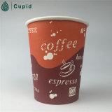 Café da parede do projeto do feijão de café de 12 onças copo de papel do único