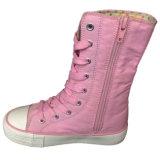 Neues Modell-Art-pinkfarbenes Segeltuch-beiläufige gehende Schuhe für Mädchen