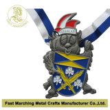 Silver Finish、SouvenirのためのMedallionのスポーツRunning Medal