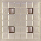 el panel de pared de cuero de la PU 3D 1008 para la decoración interior moderna