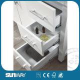 Mobilia di legno solida moderna della stanza da bagno di stile dell'America con il dispersore
