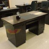 Mesa de madeira do computador pequeno de escritório Home do folheado