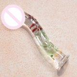 Vibrador de vidro do brinquedo do sexo para as mulheres Injo-Dg082