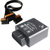 GPS que sigue el dispositivo con los datos del OBD, estatus del CRNA, micrófono (TK228-KW)
