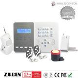 Sistema de alarme Home duplo das redes do LCD Ptsn & da G/M