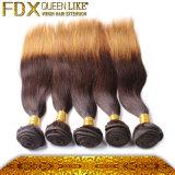 화학제품 Malaysian 실크 똑바른 Ombre 머리 직물 없는 머리 염색