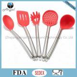 Cookware ecologico del silicone impostato: Branca Sk21 degli spaghetti del silicone
