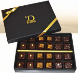 装飾の収納箱、チョコレートボックス、絵の具箱、波形の靴箱、帽子ボックス、休日のペーパーギフト用の箱(001)