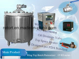 200L Stainless Steel Batch Pasteurizer avec Wing Top (séries de P-WI)