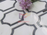大理石のMade 10mm Thickness Water Jet Mosaic Design