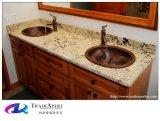 La vanità artificiale della pietra del granito della natura supera la stanza da bagno Worktops