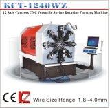 Ressort souple sans cames de Kct-1240wz 4mm faisant la machine