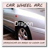 Ajuste flexível forte para todos os tipos do arco macio automotriz da roda do carro