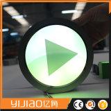 Zeichen-Firmenzeichen LED-Frontlit für Speicher-Namen