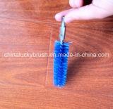青いPPの物質的な管のクリーニングブラシ(YY-194)