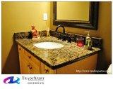 人工的な性質の花こう岩の石の虚栄心は浴室Worktopsを越える