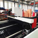 Herramienta de máquina del corte del material de construcción del metal de la fibra del laser del CNC