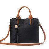 デザイナー革ハンドバッグのオフィスの女性の袋の女性のトートバックEmg4690