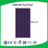 熱い販売の中国の高く有効な310Wモノクリスタル太陽電池パネルの製造業者