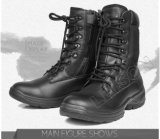 防水ナイロンおよび革靴の革またはスリップ防止およびAnti-Abrasionの戦術的なブート