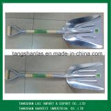 Лопаткоулавливатель лопаты высокого качества лопаткоулавливателя руки алюминиевый с деревянной ручкой