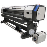 con 2 Macchina DX5 capo 2.5m Digital Flex Banner Stampa con alta Resolutionvinyl stampante Eco Solvent Printer
