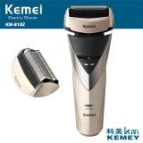 Máquina de afeitar recargable vendedora caliente de la máquina de afeitar recargable de Kemei Km-8102