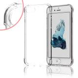 Weiches TPU Gel-harter rückseitige Platten-Kasten-Stoßplastikdeckel für Apple iPhone 7