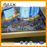 Handelsgebäude formt /Exhibition-Modelle/Projekt-Gebäude-Modell/Modell