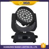 Niedriger Preis 36*18W 6 in 1 beweglichem Hauptlicht des Stadiums-LED
