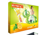 Gancho & Loop Tension Fabric Booths Pop acima Banner Stand (LT-09L2-A)