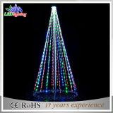 Света рождественской елки шнура украшения СИД мотива праздника напольные