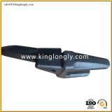 Tipo peças do ponto de Hyundai R200 da máquina escavadora dos dentes da cubeta do forjamento
