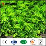 Дешевый Анти--UV зеленый цвет выходит поддельный панели изгороди завода для украшения праздника