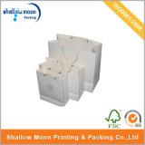 Bolso de compras de papel de encargo (QYZ003)