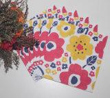 Guardanapo de papel colorido impresso com cor impressa
