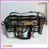 Grande Capacité PVC professionnel Effacer sac de maquillage (SACMB001)
