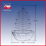 Faszinierendes Artificial Snowing Christmas Tree mit LED Lights und Music