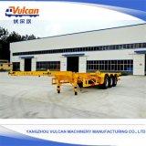 수송을%s 20FT 40FT 콘테이너 유형 골격 트럭 트레일러
