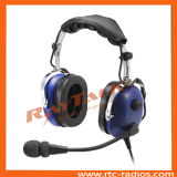 航空ヘッドセットのパイロットのヘッドホーンを取り消す多彩な対面高周波雑音