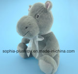 Het zachte Gevulde Stuk speelgoed van Hippo van de Pluche voor Kinderen als Gift