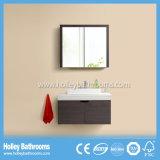 Modernes Holz MDF-Badezimmer stellte mit Speicherschrank ein (BF147D)