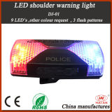 LED ricaricabile Shouder Warning Light per Police