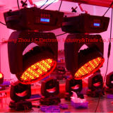 Indicatore luminoso capo mobile del professionista 108PCS 3W RGBW LED