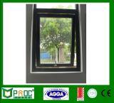 Aluminiummarkisen-Fenster mit der Doppelverglasung mit Cer Pnoc0027thw
