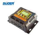 Regolatore solare della carica di Suoer 12V 24V 48V 10A MPPT (SON-MPPT-10A)